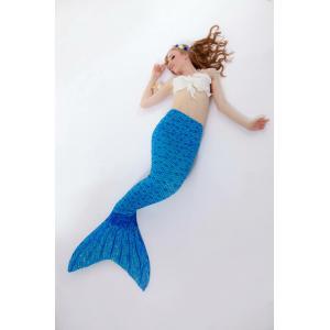 Blue Scale Mermaid Tail ( ไม่รวมเสื้อ )