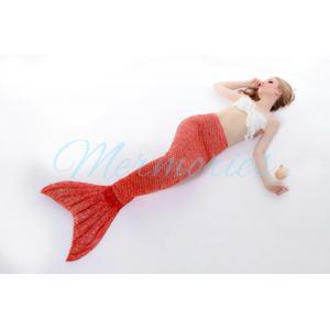 Orange Scale Mermaid Tail (ไม่รวมเสื้อ )