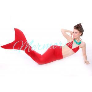 Macaws Red Glitter Mermaid Tail (ไม่รวมเสื้อ )