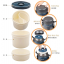Pre-order ปิ่นโต กล่องอาหารสูญญากาศเก็บความร้อนได้ตลอดวัน 3 ชั้น ความจุ 1.7 ลิตร สีแดง thumbnail 7