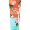 **พร้อมส่ง**Bath & Body Works Pretty as a Peach 24 Hour Moisture Ultra Shea Body Cream 226g. ครีมบำรุงผิวสุดเข้มข้น มีกลิ่นหอมสดชื่นของพีชผสมกับดอกมะลิ หอมโทนผลไม้หอมหวานกำลังดีคะ ,