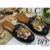 รองเท้า Style GUCCI tiger slippes (สีดำ)