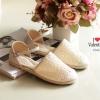 พร้อมส่ง : รองเท้าลูกไม้ Valentino ลำลอง