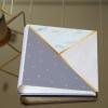 """อัลบั้ม 100 รูป (5x7"""") พร้อมส่ง ลาย Marble - Triangle"""