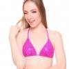 Princess Pink Glitter แบบ Bra + Bikini