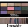 **พร้อมส่ง**Freedom Makeup London Pro 12 Eye Shadow Palette Dreamcatcher อายเชโดว์พาเลทจากลอนดอน เมืองแฟชั่น มี 12 สี เนื้อชิมเมอร์เนียนละเอียดสวยเวอร์ๆ ตระการตามากๆ เนื้อสีชัด ติดทน ไปหลุดร่วงระหว่างวัน ขนาดบางกระทัดรัดพกพาง่าย พร้อมแปรงฟองน้ำ 2 หั ,