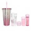 **พร้อมส่ง**Shiseido New White Lucent Set Luminizing + White Journey Hot and Cold Cup (แก้วสแตนเลสเก็บความเย็นสีชมพูน่ารัก) กิ๊ฟเซตสุดคุ้มชุด 6 ชิ้น ของแท้ 100% ใหม่ล่าสุด บอกลาความกังวลเรื่องจุดด่างดำแบบทันใจและได้ผล เผยผิวดูสว่างสดใส เจิดจรัสท้ากาลเวลา