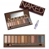 **พร้อมส่ง**New package!! Urban Decay Naked Palette +Primer (Naked 1) อายแชโดว์ที่ดังมาจากรีวิวของ โมเมพาเพลิน พร้อม primer สำหรับทาตาก่อนทา Eye Shadow ตัวนี้ สีสวย ติดทนนาน สินค้าขายดีมากที่สุดในอเมริกา Palette eyeshadow สี ,