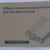 Grid Tie Inverter 300W/10.8-30V/220V
