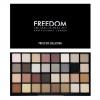 **พร้อมส่ง**Freedom Pro 32 Palette Innocent Collection พาเลทอายเชโดว์แบรนด์ใหม่จากอังกฤษที่ห้ามมองผ่านโดยเด็ดขาด เพราะอัดแน่นด้วยอายเชโดว์สีสวยถึง 32 สี ใช้จริงได้ทุกสี เนื้อสีแน่นชัด ติดทน โทนสีธรรมชาติ และมีสีเข้มมาให้แต่งโทนสโมคกี้ หรือใช้คัดเบ้า เน้นต