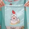 ถุงผ้าซาติน ลาย Kook Kai - Mint
