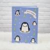 """อัลบั้ม 300 รูป (4x6"""") ลาย Penguin - สั่งทำใส่ชื่อ"""