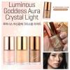**พร้อมส่ง**Tony Moly Luminous Goddess Aura Crystal Light 10 ml. #03 Bronzing Glam เป็นสาวแกลมผ่องๆออร่าง่ายๆด้วยครีมไฮไลท์เฉดดิ้งเนื้อสีน้ำตาลทอง ให้ผิวดูลุคฉ่ำแดด ต้องการผิวสีแทนสุขภาพดี สามารถใช้ทำเฉดดิ้งทาทับกับปัดแก้มสีเดิมให้ดูเข้มเปล่งประกายยิ่งขึ้