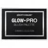 **พร้อมส่ง*City Color Glow Pro Blush Palette Shimmer Collection ซิตี้ คัลเลอร์ โกล โปร บลัช ชิมเมอร์ พาเลท 6 สีที่หลากหลายที่ครบในทุกลุคและโอกาส เนื้อบรัชนุ่มลื่นผสมชิมเมอร์เนื้อเนียนละเอียด พิกเม้นท์สีสวยหรูมีระดับ เกลี่ยง่ายเรียบเนียนไปกับผิว บรรจุในเเพ