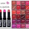 **พร้อมส่ง*City Color Be Matte Lipsticks ลิปสติกเนื้อแมทรุ่นล่าสุด สีสันร้อนแรง ดูเปล่งประกายได้ดังใจ ตอบสนองทุกความต้องการของสาวๆทุกวัย เนื้อลิปพิกเมนต์สีแน่น ให้สีสดชัดเจน กลบสีริมฝีปากได้อย่างแนบเนียนโดยไม่ทำให้ริมฝีปากเกิดอาการระคายเคือง ,