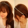 BRIDAL HAIR COLLAR H-08