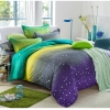 (Pre-order) ชุดผ้าปูที่นอน ปลอกหมอน ปลอกผ้าห่ม ผ้าคลุมเตียง ผ้าโพลีเอสเตอร์พิมพ์ลายแกแล็กซี่