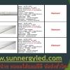 LED Sensor T8 tube STC-QF-T8S8W-NON