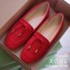 รองเท้าส้นแบน Style Tods (สีแดง)