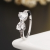 Bow CZ RING