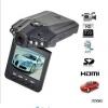 """H198 2.5"""" LCD 6 IR LED Night Vision DVR Car Camera"""