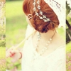 CRYSTAL HAIR COLLAR H-07