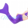 Purple Glitter Mermaid Tail(แถมเสื้อ)