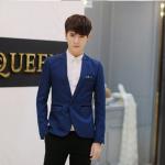 เสื้อสูท สีกลมท่า แนวเกาหลี