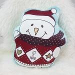 หมอนลาย Santa Snowman