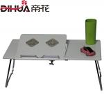 Pre-order ชุดโต๊ะคอมพิวเตอร์ โต๊ะแล็ปท้อป แบบมีพัดลมระบายอากาศ สีขาว
