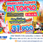 NRT02_SPARKLING FLOWER IN TOYKO 5D3N (01 - 31 ตุลาคม 2560)