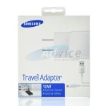 Travel Adapter USB Charger 'SAMSUNG' (U90JWSGSTD) White