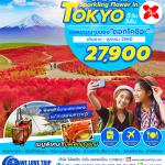 NRT09. SPECIAL SPARKLING FLOWER IN TOKYO 5D3N BYXJ (01 - 31 ตุลาคม 2560)