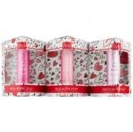 **พร้อมส่ง**Fresh Pretty in Pink Lip Gift Set (Limited Edition) ชุดเซ็ทของขวัญแพคเกจที่ประดับตกแต่งด้วยลวดลายรูปหัวใจนี้ บรรจุไว้ด้วยผลิตภัณฑ์บำรุงริมฝีปากที่มอบความชุ่มชื้น พร้อมแต่งแต้มริมฝีปากด้วยเฉดสีชมพูอันอ่อนหวาน ,
