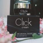 Clickcream ครีม click ขนาด 25 ml. ครีมบำรุงผิวขั้นเทพ