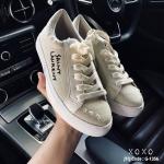 รองเท้าผ้าใบปักลาย Style YSL
