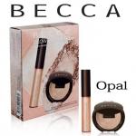 **พร้อมส่ง**Becca Glow on The Go Shimmering Skin Perfector Opal Set เซ็ตเพื่อผิวโกลว์สวยแลดูมีมิติอย่างเป็นธรรมชาติที่มีทั้งไฮไลท์แบบตลับและแบบลิควิด มาพร้อมพิกเม้นท์แน่นติดทนนาน ,
