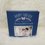 """อัลบั้ม 100 รูป (4x6"""") Bow - Square Frame - สั่งทำใส่รูปถ่าย"""