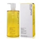 **พร้อมส่ง**Shu Uemura Skin Purifier High Performance Balancing Cleansing Oil Advanced Formula 450 ml. สีเหลือง ชู อูเอะมูระ คลีนซิ่งออยล์สำหรับทุกสภาพผิว ผสานน้ำมันจากพืชสมุนไพรพื้นเมืองของเอเชีย อาทิ น้ำมันจากชาคาเมลเลีย (Camellia Oil) และน้ำมันจากเหง้า