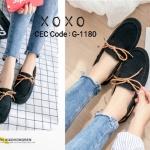 รองเท้าคัทชู Style TOD (สีดำ)
