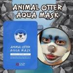 **พร้อมส่ง**SNP ANIMAL MASK Otter Aqua Mask (1 แผ่น) แผ่นมาร์กหน้าลายสัตว์ แมวน้ำ สูตรน้ำแร่เพิ่มความชุ่มชื่นแก่ผิวหน้าให้หน้าเงาหน้าฉ่ำ ลูกเล่นแนวใหม่ไม่ต้องเบื่อกับการมาส์กหน้าแบบเดิมๆ Selfie สนุกๆ ระหว่างมาส์ก สุดฮิตจากเกาหลี ,