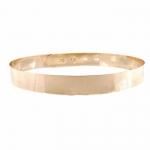 ส่งฟรี เข็มขัดโลหะทอง เต็มวง 3 cm