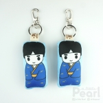 พวงกุญแจตุ๊กตาญี่ปุ่นชาย