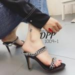 รองเท้าส้นสูงเปิดส้นสไตล์ Givenchy