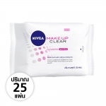 NIVEA MAKE UP CLEAR CLEANSING WIPES 25 SHEET
