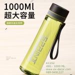 Pre-Order กระบอกน้ำแก้วคริสตัลใสสุญญากาศ กระติกน้ำร้อน กระติกน้ำเย็น สีเขียวพาสเทล สำหรับนักกีฬาและกิจกรรมกลางแจ้ง ขนาดใหญ่ 1000 มล.