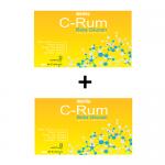 ผลิตภัณฑ์เสริมอาหาร C-Rum Beta Glucan (ซี-รัม เบต้า กลูแคน) 2 กล่อง (บรรจุ กล่องละ 30 แคปซูล)