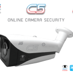 PSI OCS กล้องวงจรปิด ONLINE CAMERA SECURITY HD รุ่น C5 ภาพสีในที่มืด ฟรี AC Adaptor 12V 1A