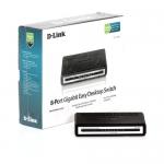 8 port S/W Gigabit HUB D-LINK (DGS-1008A)