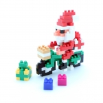 Santa Claus on the Bicycle